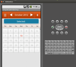 Custom Calendar in Android | Android Calendar Example with